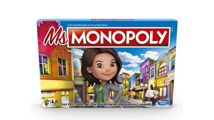Hasbro Ms Monopoly