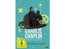 Charlie Chaplin Complete Collection 12 DVDs