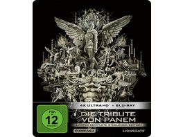 Die Tribute von Panem Limited Complete Steelbook Edition 4 Disc 4K Ultra HD 4 Blu ray