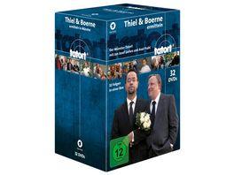 Tatort Muenster Thiel und Boerne ermitteln Fall 01 32 32 DVDs