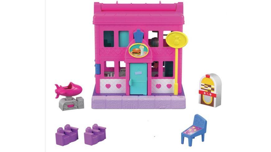 Mattel Polly Pocket Pollyville Playset