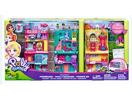 Mattel Polly Pocket Pollyville Playset