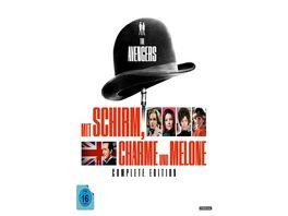 Mit Schirm Charme und Melone Complete Edition 54 DVDs