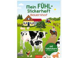 Mein Fuehl Stickerheft Bauernhof