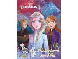 Disney Die Eiskoenigin 2 Stickerbuch zum Film