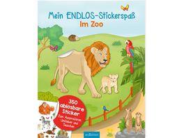 Mein Endlos Stickerspass Im Zoo