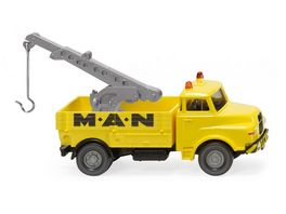 WIKING 0634 06 Abschleppwagen MAN MAN Service 1 87