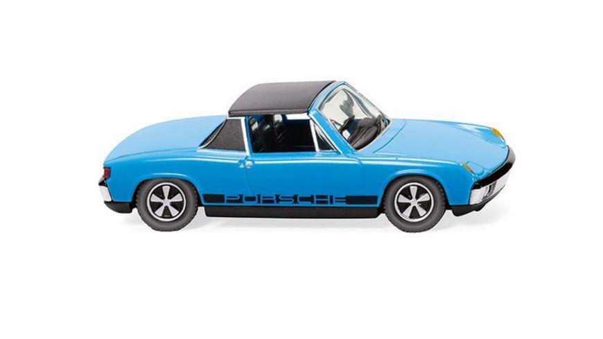 WIKING 0792 07 VW Porsche 914 hellblau 1 87