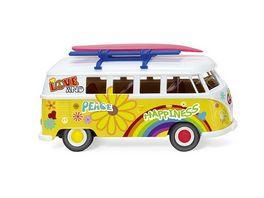 WIKING 0797 25 VW T1 Bus Flower Power 1 87