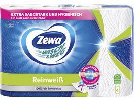 ZEWA WISCH WEG REINWEISS 4x45 BLATT