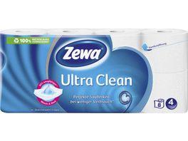 Zewa Toilettenpapier Ultra Clean 4 lagig