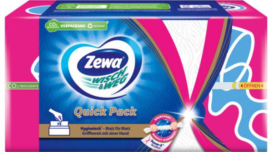 Zewa WISCH WEG Quick Pack