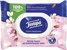 Tempo Feuchte Toilettentuecher Mandelmilch Panthenol