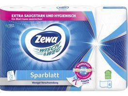 ZEWA WISCH WEG SPARBLATT 4x74 BLATT