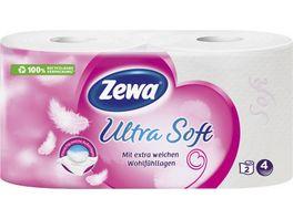 Zewa Toilettenpapier Ultra Soft 4 lagig