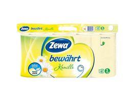 Zewa Toilettenpapier Bewaehrt Kamille 3 lagig