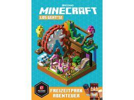 Minecraft Los geht s Freizeitpark Abenteuer