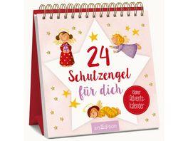 24 Schutzengel fuer dich Kleiner Adventskalender zum Aufstellen