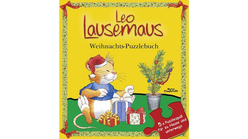 Leo Lausemaus Weihnachts Puzzlebuch