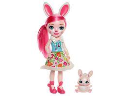 Mattel Enchantimals Puppe Bunny 31 cm mit Freund