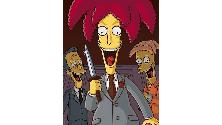 Die Simpsons Season 19 4 DVDs