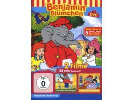 Benjamin Bluemchen Flaschengeist Blaue Elefant