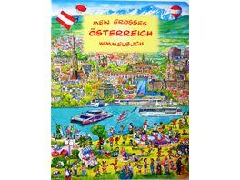 Mein grosses Oesterreich Wimmelbuch