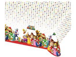 Amscan Tischdecke Super Mario Bros 120x180cm