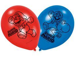 Amscan Latexballons 22 8cm Super Mario Bros