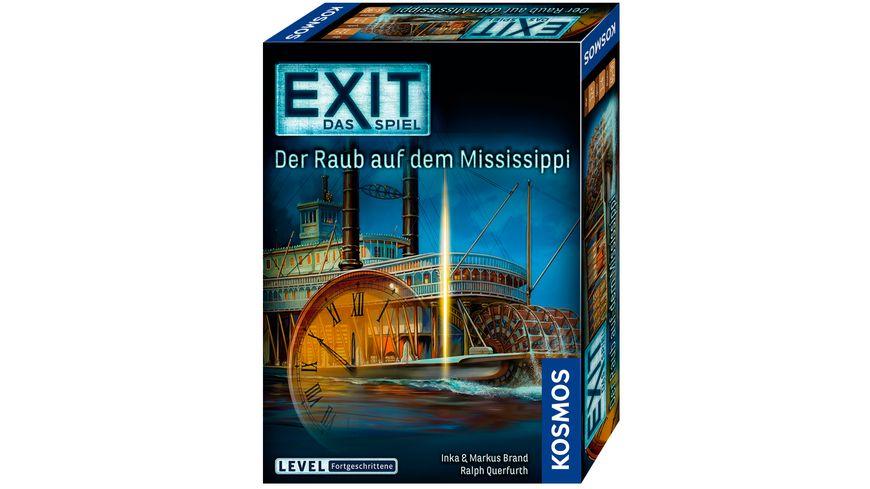 KOSMOS EXIT Das Spiel Der Raub auf dem Mississippi Level Fortgeschrittene