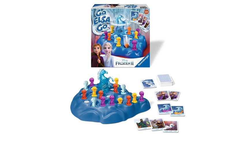 Ravensburger Spiel Frozen 2 Go Elsa Go