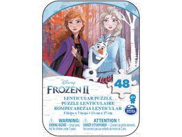 Spin Master Frozen 2 Puzzle Mini Tin 48 Teile