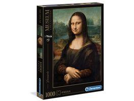 Clementoni Leonardo Gioconda Mona Lisa 1000 Teile Puzzel