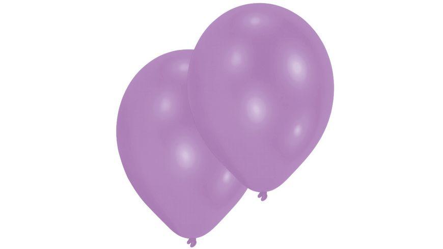 Amscan 10 Latex Ballons violett 27 5cm