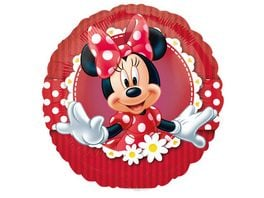 Amscan Folienballon Mini Shape Verrueckt nach Minnie 17 cm