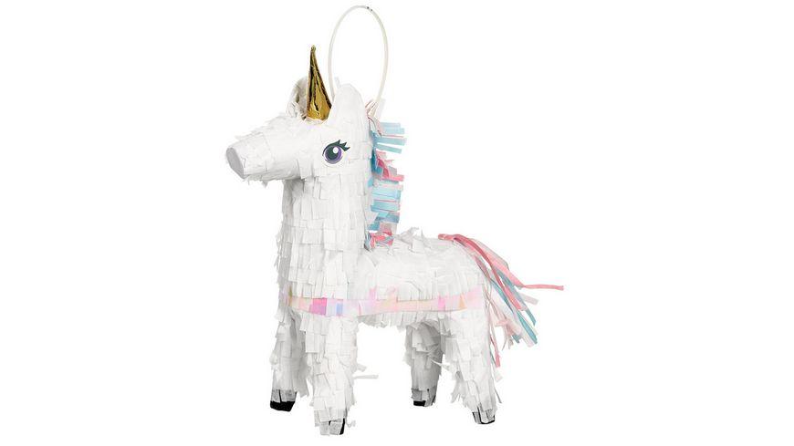 Amscan PINATA Magical Unicorn Papier 19 x 14 6 cm