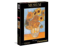 Clementoni Van Gogh Sonnenblumen 1000 Teile Puzzel Museum Collection