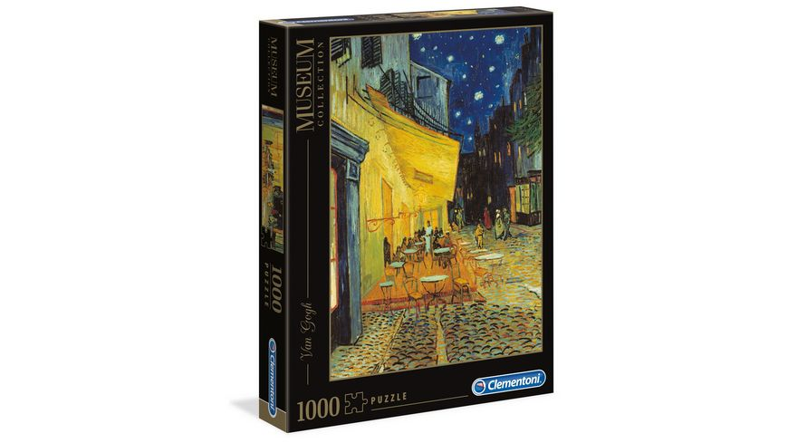Clementoni Van Gogh Cafe bei Nacht 1000 Teile Puzzel Museum Collection