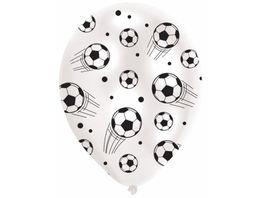 Amscan 6 Ballons Football 7 5 cm