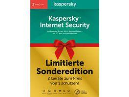 Kaspersky Internet Security 2 Geraete CIAB