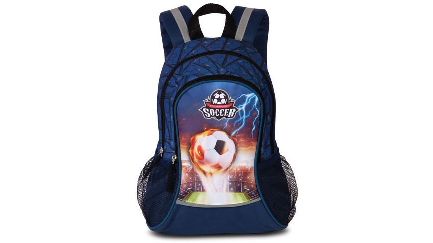 fabrizio Kinderrucksack Soccer navy 20599 0600