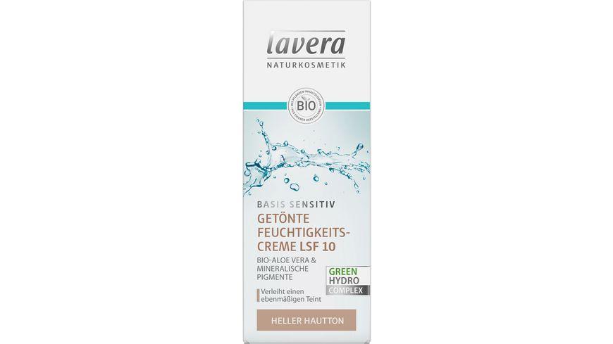 lavera basis sensitiv Getönte Tagescreme LSF 10 heller Hauttyp