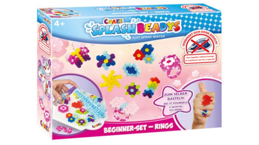 CRAZE Splash Beadys Beginner Set Rings
