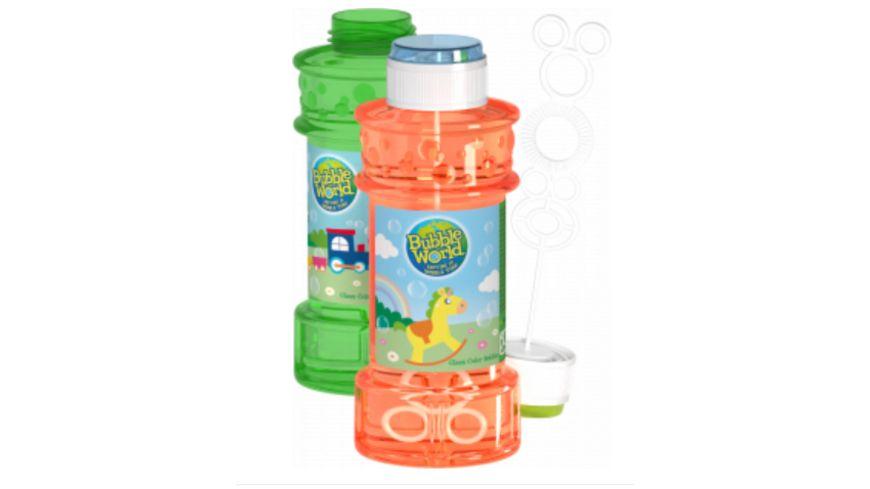 Dulcop - Seifenblasen Bubble World 300 ml Glas, farblich sortiert