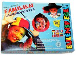 Eulenspiegel 208014 Familien Schmink Palette
