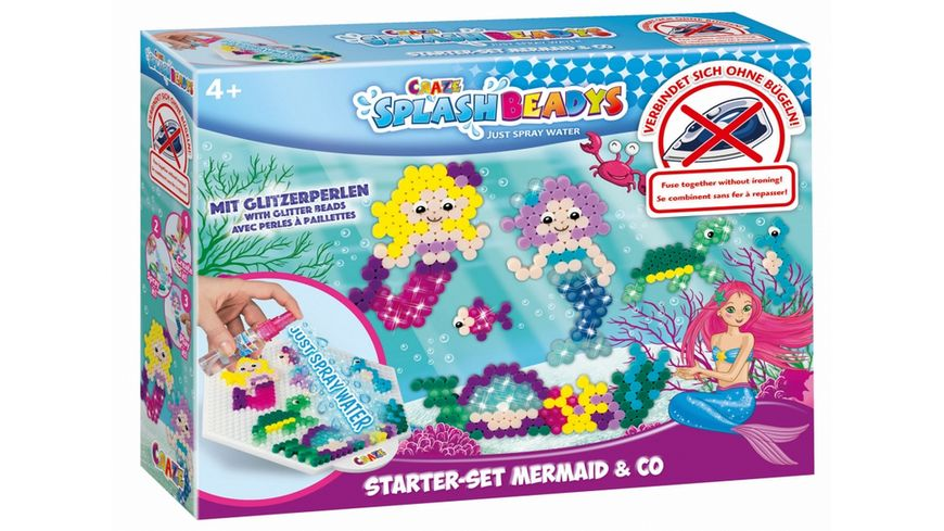 CRAZE Splash Beadys Starter Set Mermaid Co
