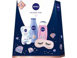 NIVEA Relaxed Time Geschenkset
