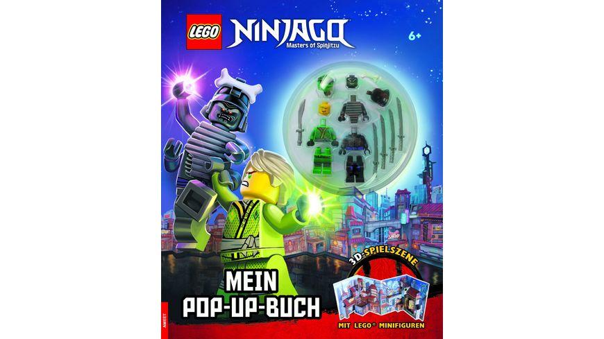 LEGO NINJAGO Mein Pop up Buch
