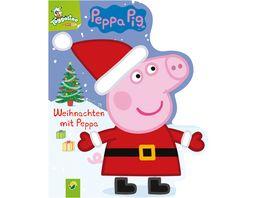 Weihnachten mit Peppa Ein Bilderbuch rund um Peppa Pigs Weihnachtsfest