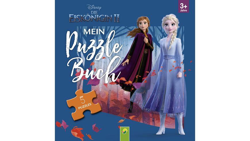 Die Eiskoenigin 2 Mein Puzzlebuch